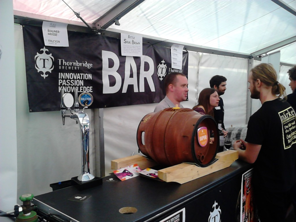 Thornbridge Brewery at Borefts Beer Festival 2013