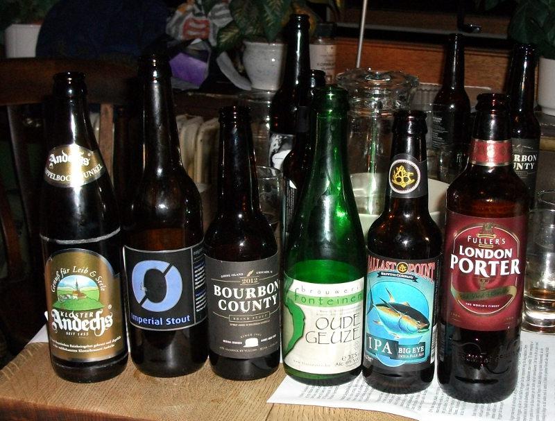 Dejlige øl på Carlsens Kvarter