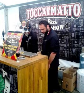 Det italienske bryggeri Toccalmatto til Borefts Beer Festival