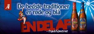 J-dag med Albani Blålys og Rødhætte julebryg