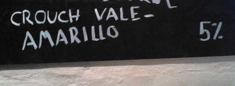 Crouch Vale Amarillo på tavlen på Christian Firtal