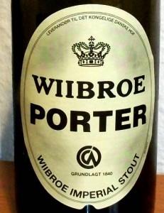 Wiibroe Porter etiket
