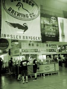 Indslev Bryggeri og Ugly Duck Brewing på Ølfestival 2014 i Tap 1 København