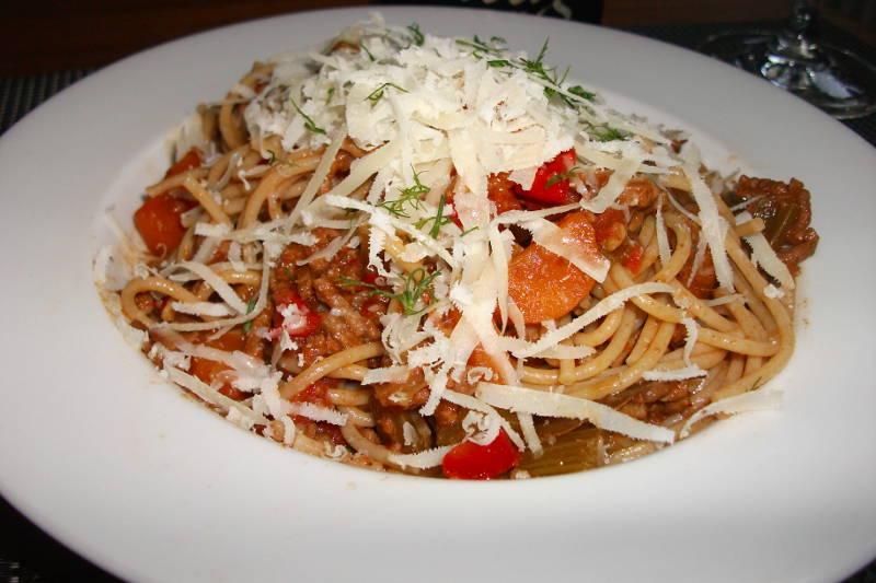 Spaghetti Bolognese med Rodenbach Grand Cru