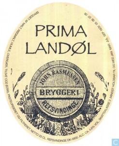 Refsvindinge Prima Landøl, en røget pilsner med minder om øl på landet i gamle dage