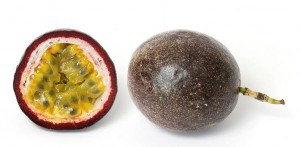 Passion fruit. Photo from wikipedia