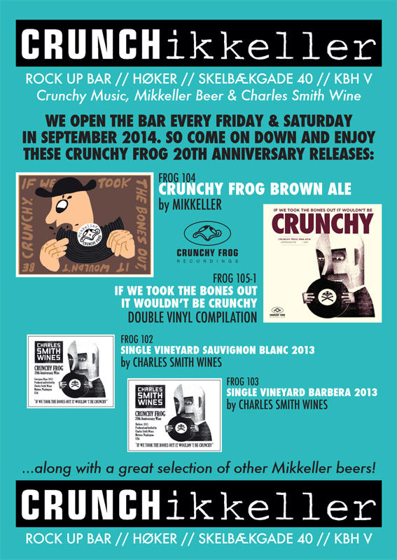 CRUNCHikeller Rock Up Bar flyer