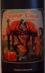 Amager Cigar City Orange Crush Session IPA etiket