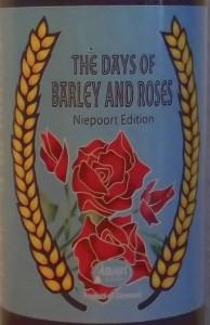 The Days of Barley and Roses Niepoort Edition. Portvinsfadlagret barley wine fra Amager Bryghus