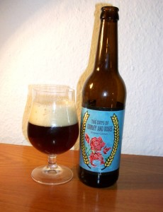 Amager Bryghus The Days of Barley and Roses barleywine Niepoort Edition
