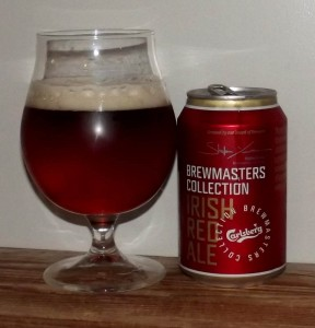 Carlsberg Brewmasters Collection Irish Red Ale