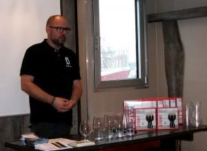 Erik fra Ø-bryg fortæller om glas og øltjener-uddannelse