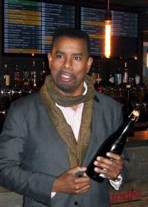 Garrett Oliver med den fantastiske barleywine Brooklyn Brewery Hand & Seal