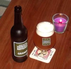 Herslev Granøl pale ale med gran
