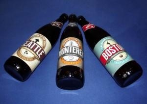 Tre amerikanske øl fra Thisted Bryghus