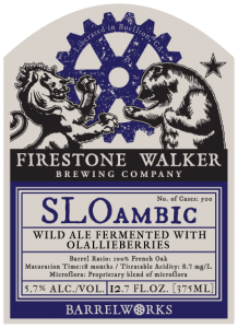 Firestone Walker's SLOambic, best beer at Coppenhagen Beer Celebration