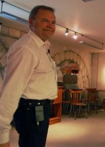 Carsten Berthelsen, altid med et smil på læben