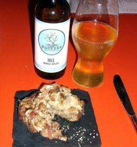 Buschetta med røgede svampe, Spåis! Food Festival menu på Bar Snik Snak