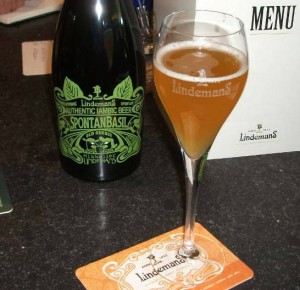 Lindemans and Mikkeller collaboration SpontanBasil
