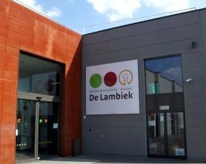 De Lambiek visitor center in Alsemberg - Bezoekercentrum Beersel