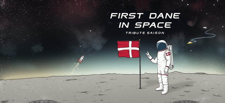 Rocket Brewing First Dane In Space Tribute Saison