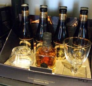 Gouden Carolus Tripel and Stokerij de Molenberg Single Malt Whisky tasting set