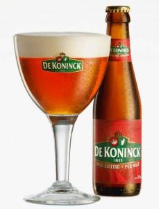 De Koninck Antwerpen Pale ale, or as it's generally known: The bolleke