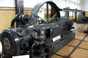 Brouwerij Roman's old machinery is still on display