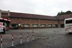 The brewery yard