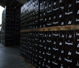 Lots of St. Bernardus beer