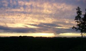 St. Bernardus sunset
