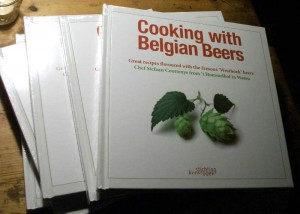 The cook book Cooking With Belgian Beers by Stefaan Cutteneye