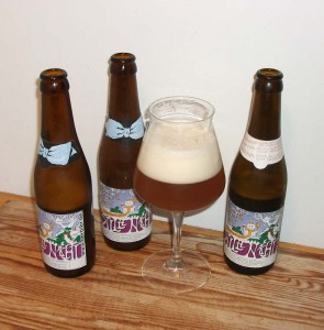 De Dolle Brewers Stille Nacht in three vintages