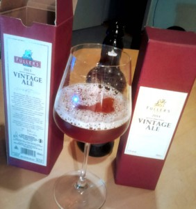 Fullers Vintage Ale 2013 and 2014