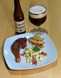 Rochefort 8, med kylling og fennikelsalat