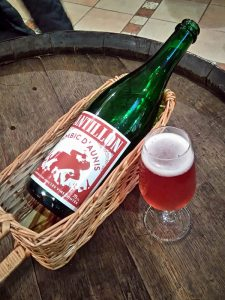 Cantillon Lambic d'Aunis at Cantillon tap room