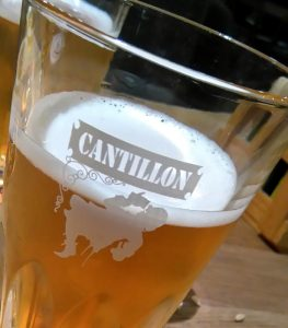 Visiting the Cantillon tap room