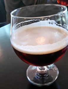 A nice glass of Jacobsen Export 1874, strong dark lager