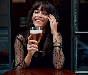 Skuespiller Cecilie Lassen er klar til Copenhagen Beer & Whisky Festival