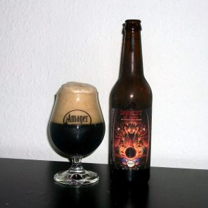 Amager Bryghus and Stillwater Artisanal Darkest of Suns spiced dark saison