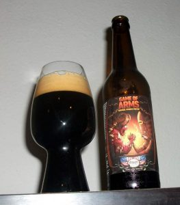 Amager Bryghus / Cigar City Brewing Game of Arms in a Spiegelau Stout Glass