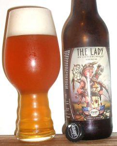Amager Bryghus / Fonta Flora The Lady of Cofitachequi in a Spiegelau IPA glass