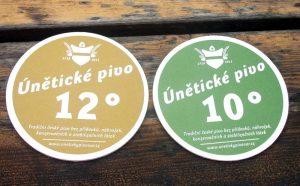 Uneticky Pivovar Uneticke 10 og Uneticke 12