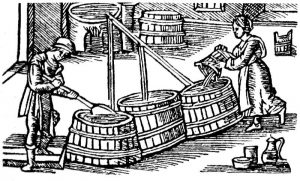 Ølbrygning i gamle dage