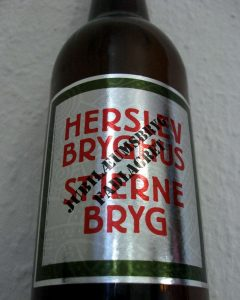 Fulde navn: Herslev Bryghus Stjernebryg Jubilæumsbryg Fadlagret