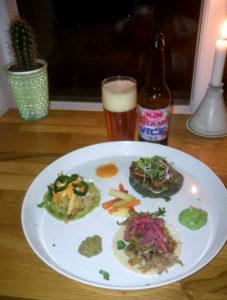 Tre gange tacos på Restaurant Gringas, mexicansk restaurant på Overgade i Odense