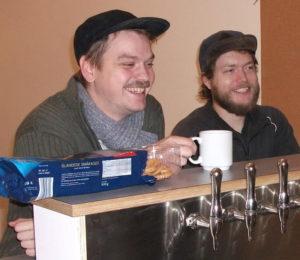 Tak til Peter og Stefan for at bringe frisk tjekkisk lagerøl til Odense!