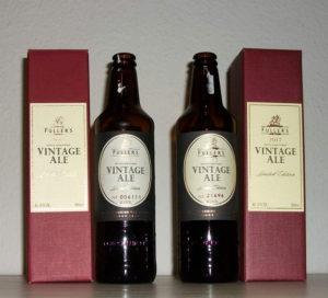 Fullers Vintage Ale 2016 og Fullers Vintage Ale 2017