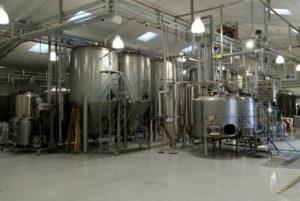 Amager Bryghus' nye bryggeri på Kirstinehøj 38B