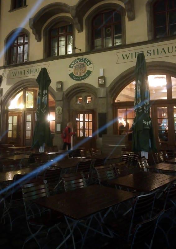Ayingers fantastiske værtshus i centrum af München
